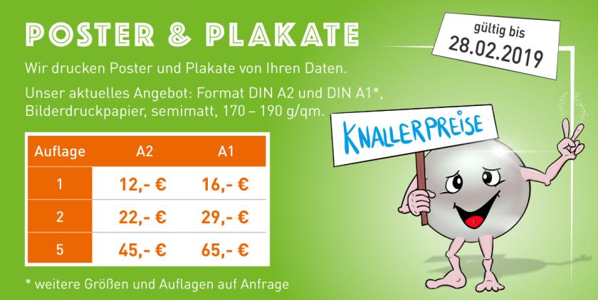 Knallerpreise, Aktionspreise, Angebot, Poster, Plakate, DIN A2, DIN A1